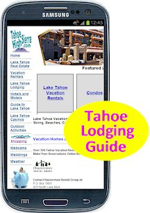 Advertise in our Lake Tahoe Lodging Guide