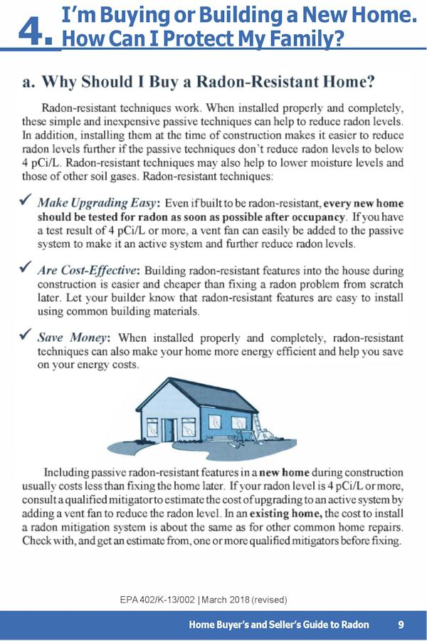 EPA Guide to Radon p.13