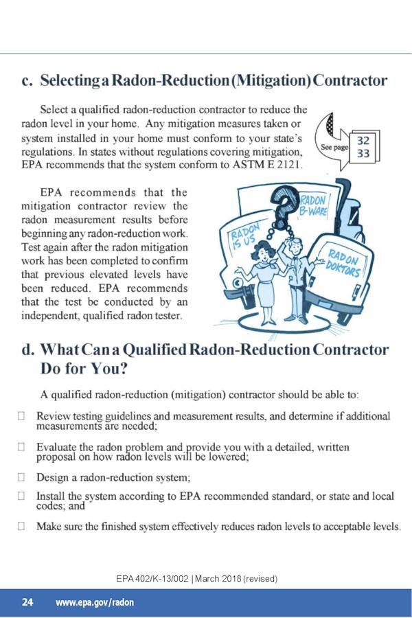 EPA Guide to Radon p.28