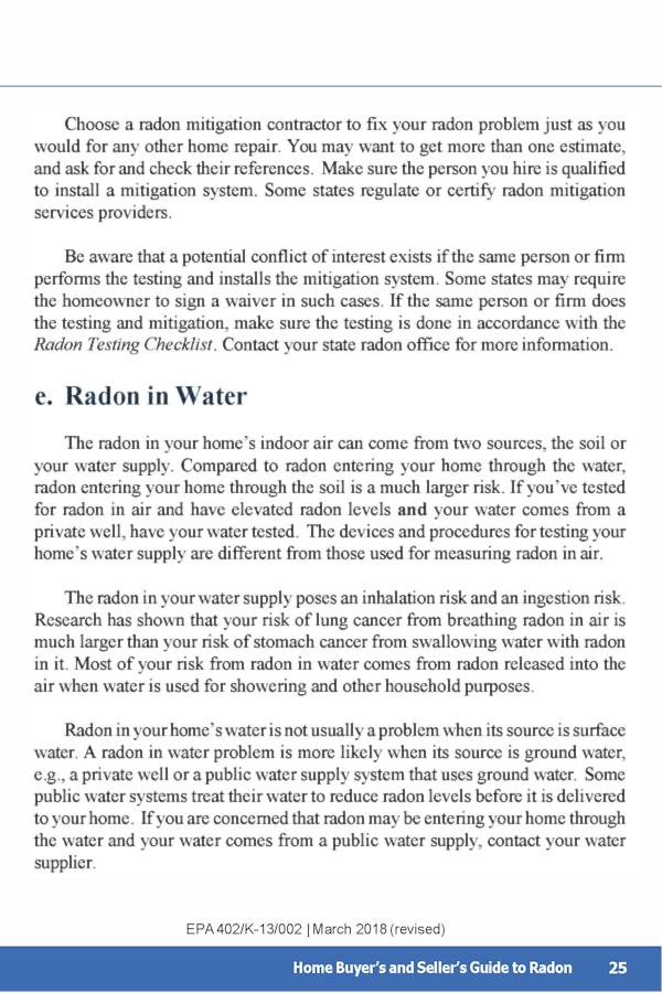 EPA Guide to Radon p.29