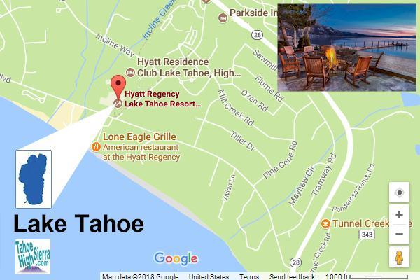Hyatt Regency Hotel Lake Tahoe