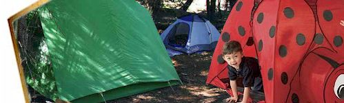 Children Camping Play Tent