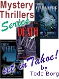 Lake Tahoe Mystery books by Todd Borg