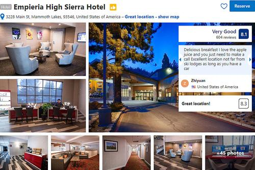 Empieria High Sierra Hotel